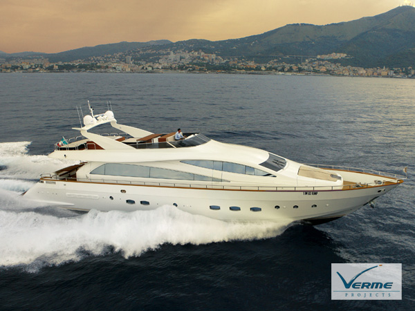 Motor Yacht Amer 92